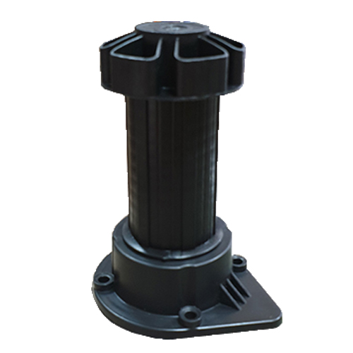 Furniture PVC kitchen leg - Black