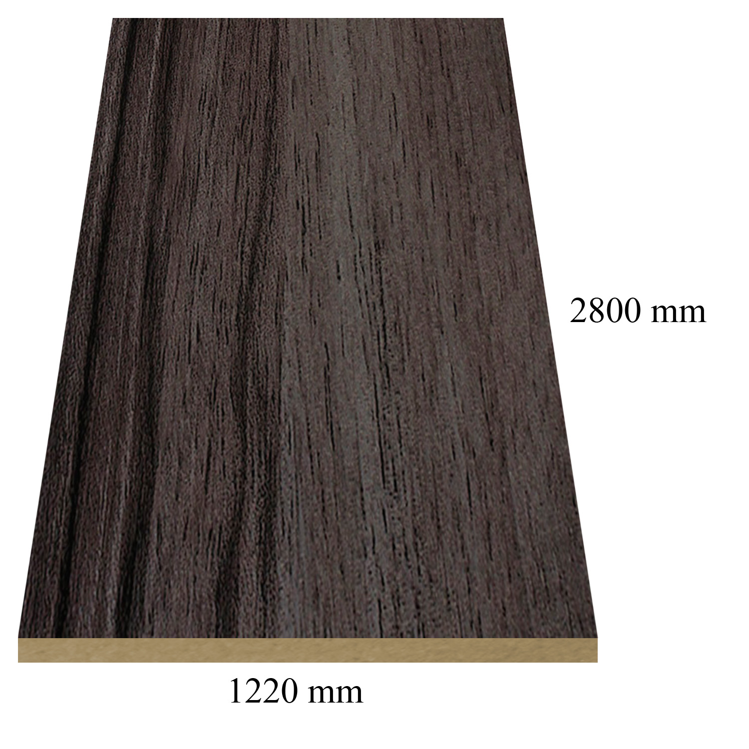 Y49 Imperia gloss - PVC coated 18 mm MDF У49