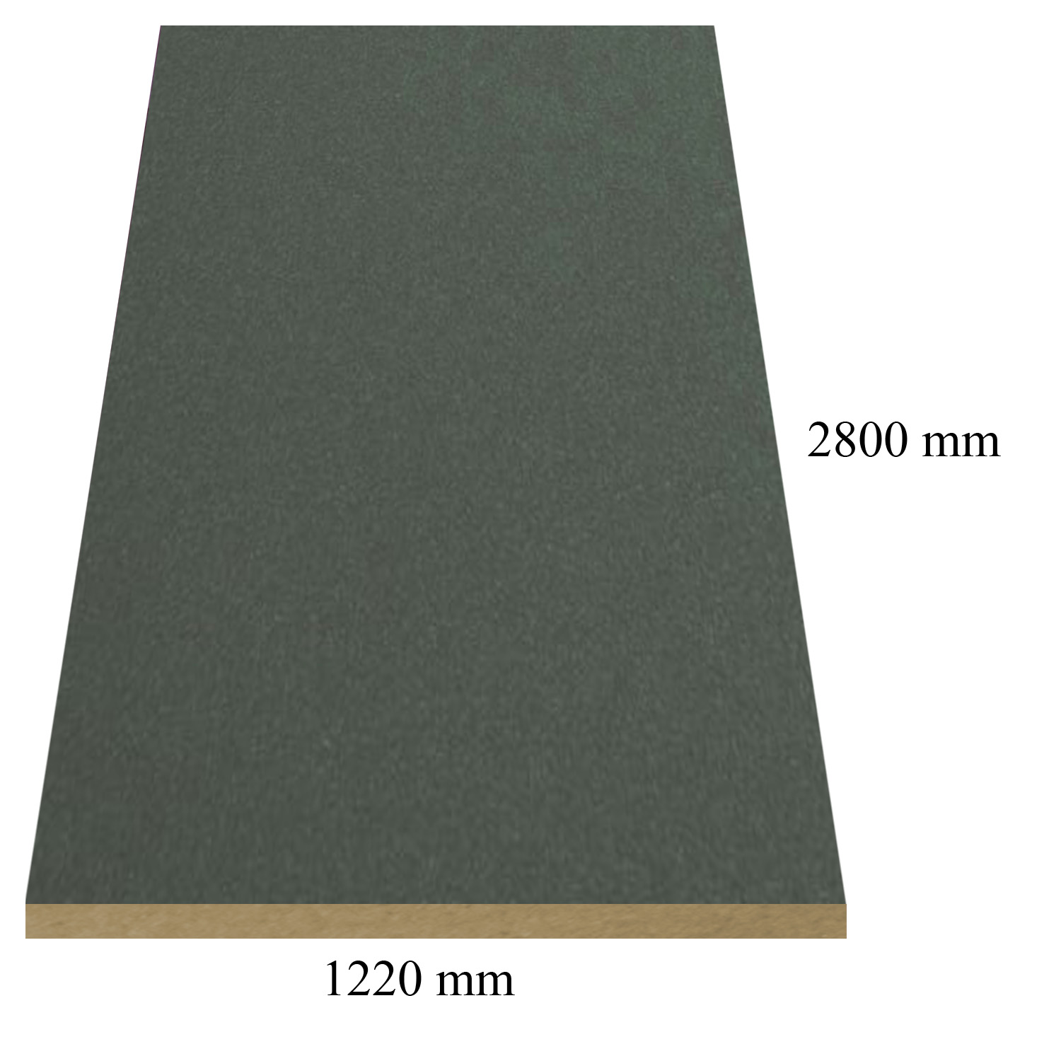 1431 /476 Antracite galaxy high gloss - PVC coated 18 mm MDF